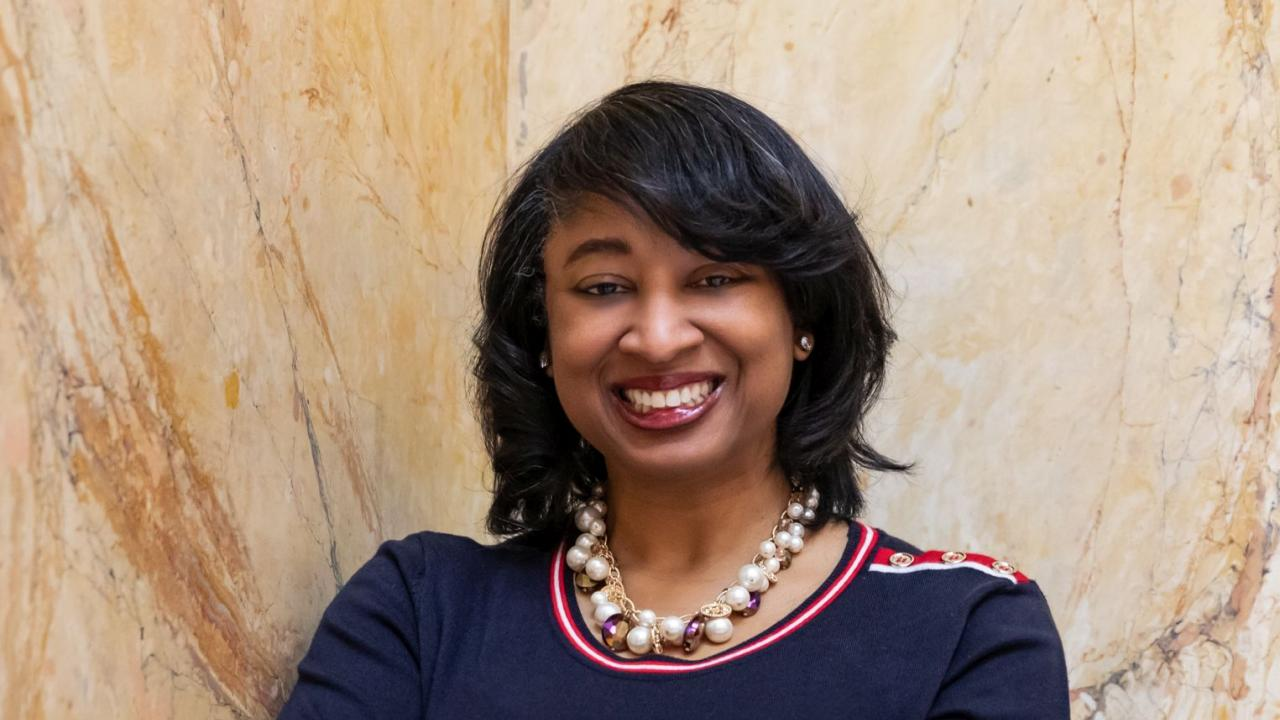 Vice Chancellor for Diversity, Equity and Inclusion Renetta Tull